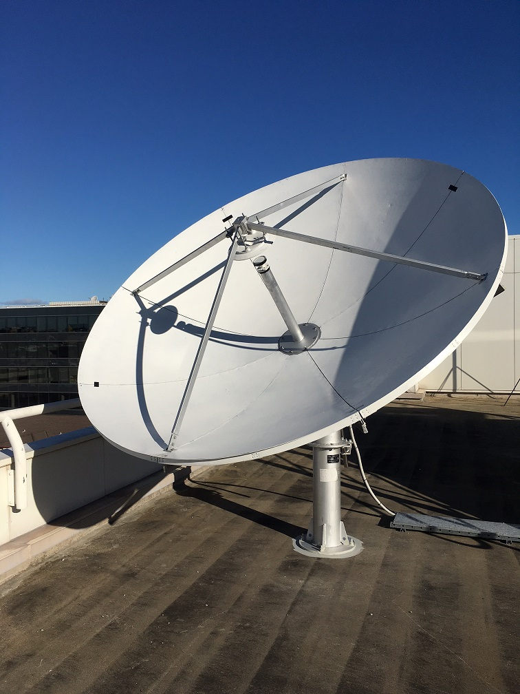New SES Uplink Antenna